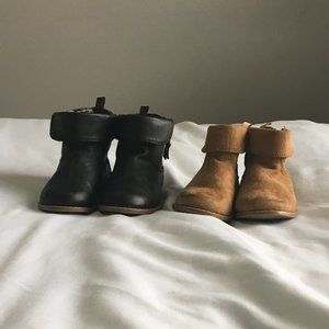 Cuffed Toddler Boots